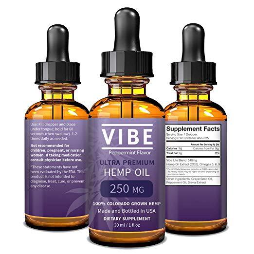 vibe hemp oil