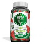 Meds Biotech Gummies - CBD Infused Watermelon Slices