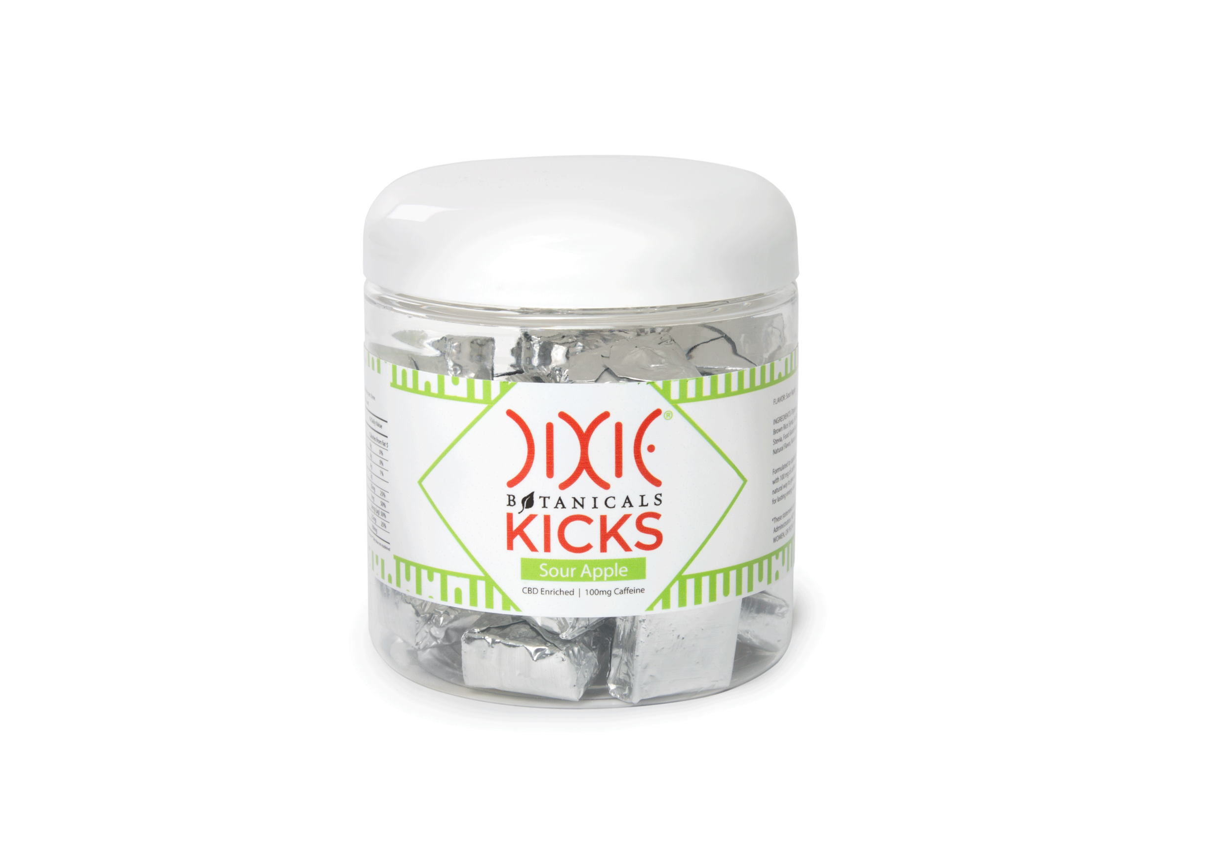 HempMeds Kicks-Sour Apple CBD Edibles