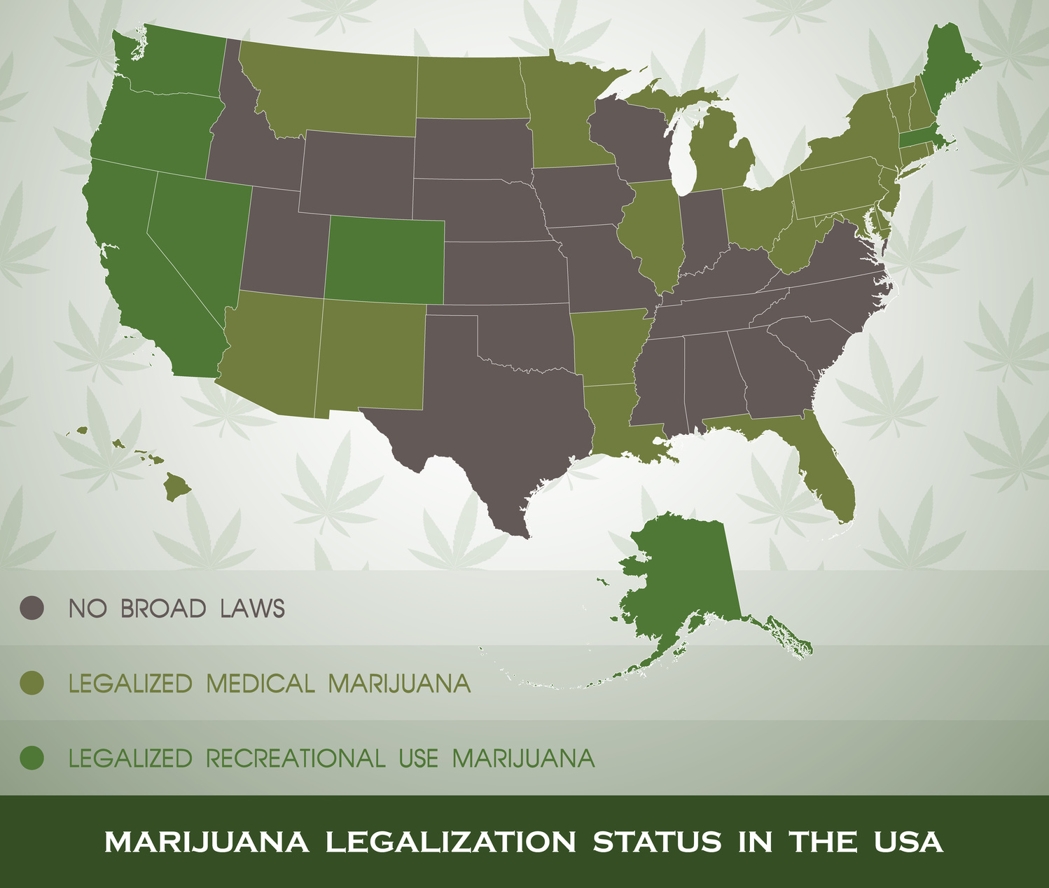 States Where CBD Oil Is Allowed